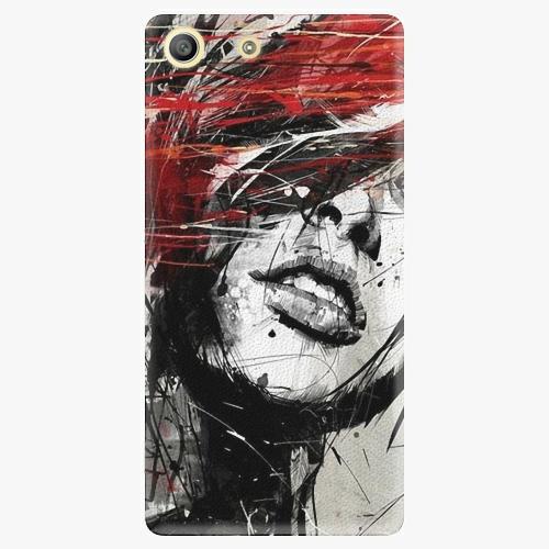 Plastový kryt iSaprio - Sketch Face - Sony Xperia M5