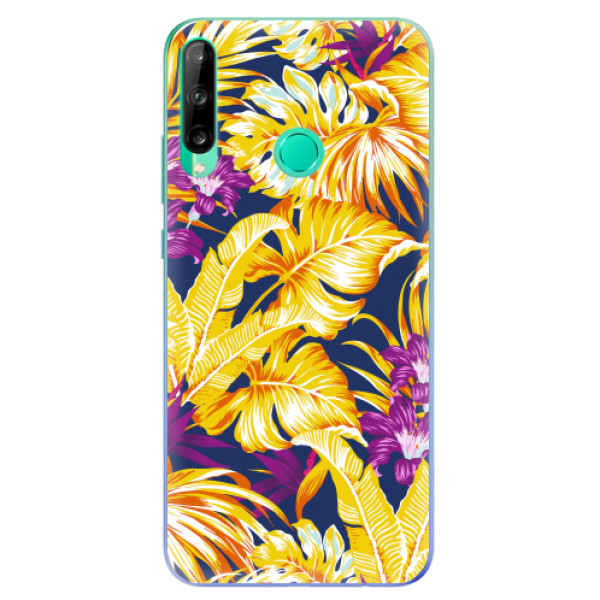 Odolné silikonové pouzdro iSaprio - Tropical Orange 04 - Huawei P40 Lite E