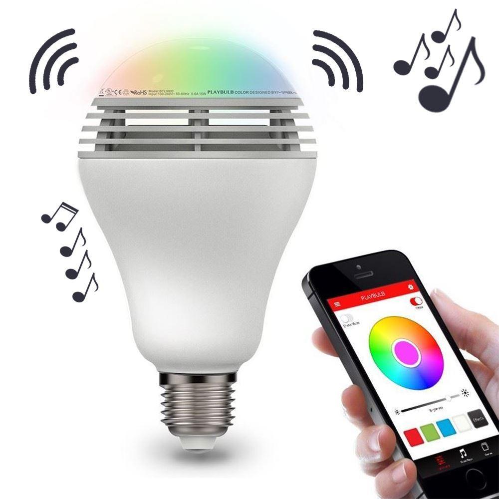 Inteligentní LED žárovka s Bluetooth