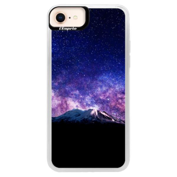 Neonové pouzdro Pink iSaprio - Milky Way - iPhone 8