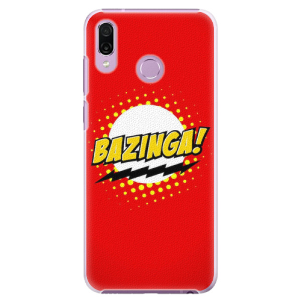Plastové pouzdro iSaprio - Bazinga 01 - Huawei Honor Play