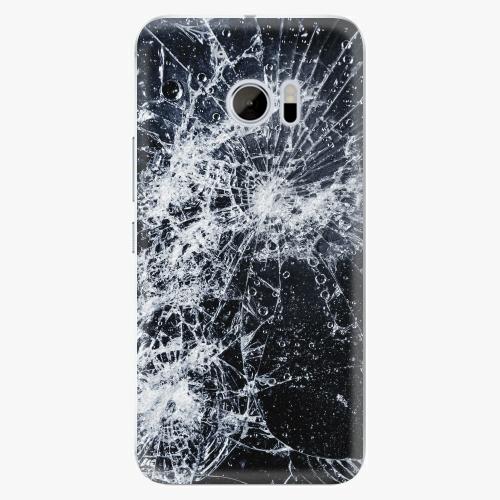 Plastový kryt iSaprio - Cracked - HTC 10