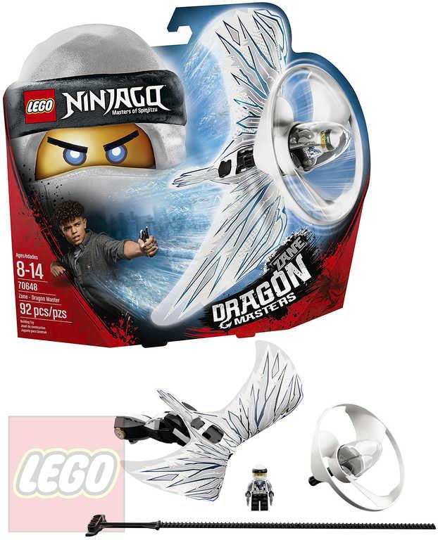 LEGO NINJAGO Dračí mistr Zane 70648 STAVEBNICE
