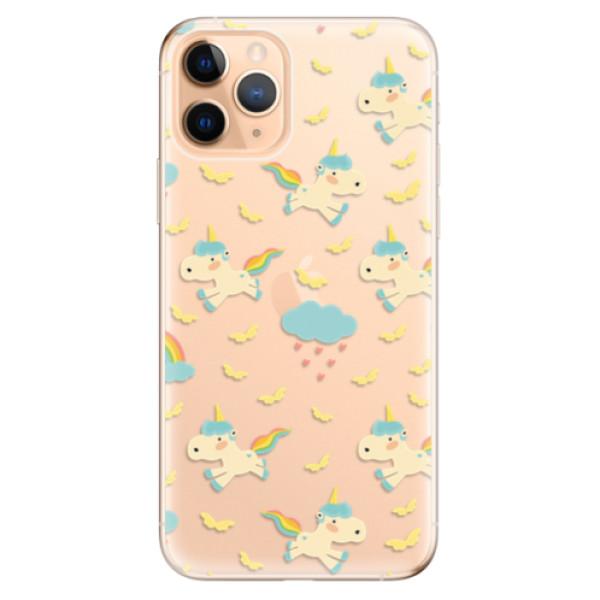 Odolné silikonové pouzdro iSaprio - Unicorn pattern 01 - iPhone 11 Pro
