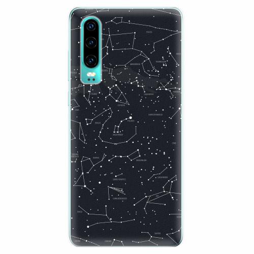 Silikonové pouzdro iSaprio - Night Sky 01 - Huawei P30