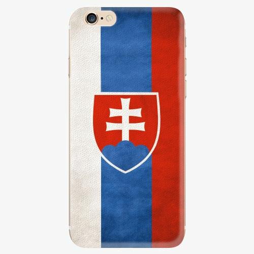 Silikonové pouzdro iSaprio - Slovakia Flag - iPhone 6/6S