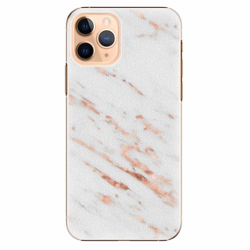 Plastový kryt iSaprio - Rose Gold Marble - iPhone 11 Pro