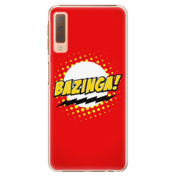 Plastové pouzdro iSaprio - Bazinga 01 - Samsung Galaxy A7 (2018)