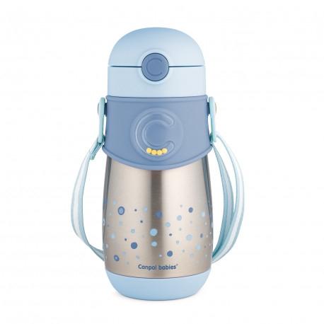 canpol-babiestermolahev-se-silikonovou-slamkou-300-ml-modry