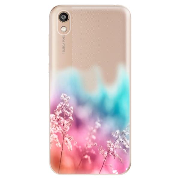 Odolné silikonové pouzdro iSaprio - Rainbow Grass - Huawei Honor 8S