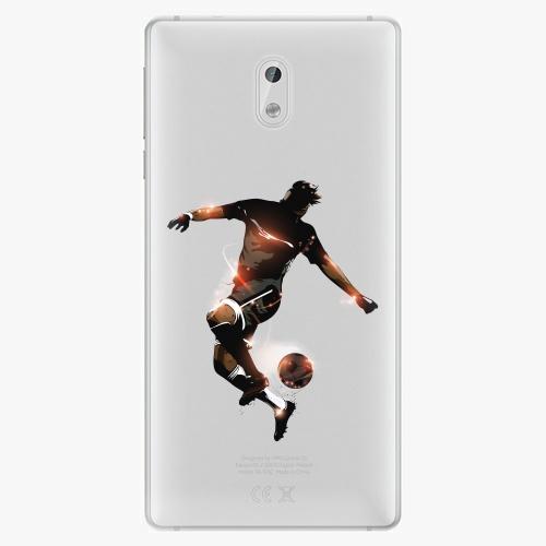 Plastový kryt iSaprio - Fotball 01 - Nokia 3
