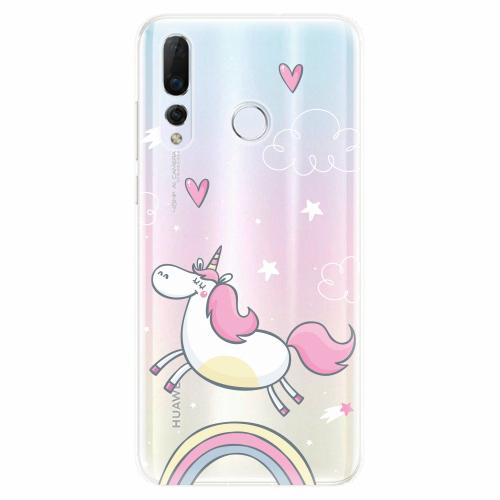 Silikonové pouzdro iSaprio - Unicorn 01 - Huawei Nova 4