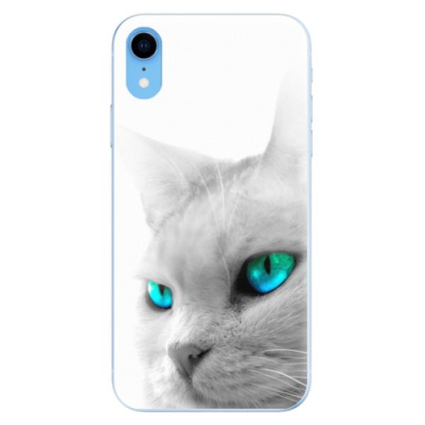 Odolné silikonové pouzdro iSaprio - Cats Eyes - iPhone XR