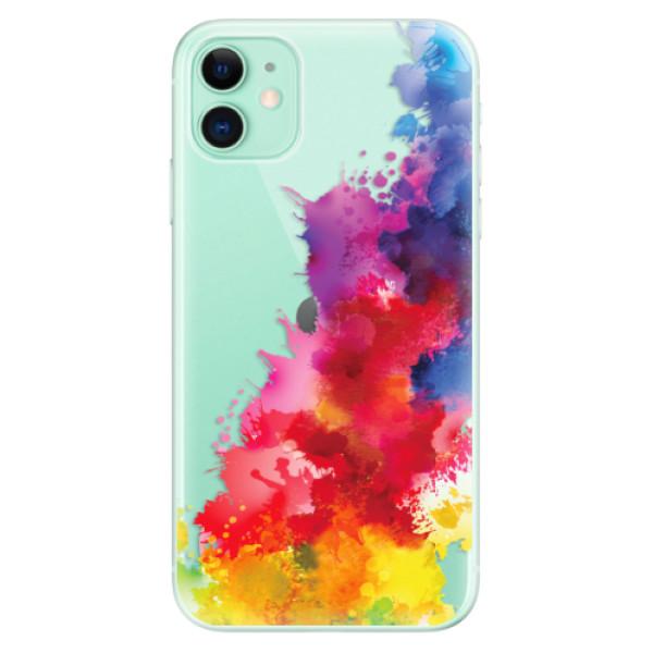 Odolné silikonové pouzdro iSaprio - Color Splash 01 - iPhone 11