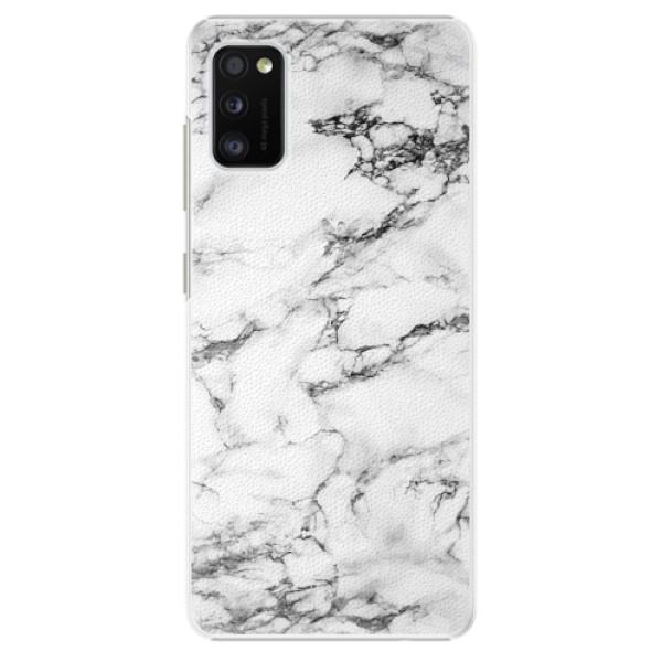 Plastové pouzdro iSaprio - White Marble 01 - Samsung Galaxy A41