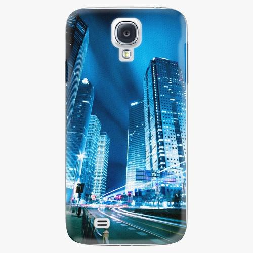 Plastový kryt iSaprio - Night City Blue - Samsung Galaxy S4