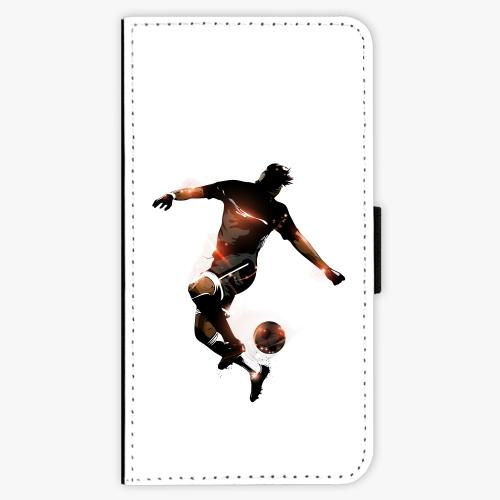 Flipové pouzdro iSaprio - Fotball 01 - Samsung Galaxy J7 2016