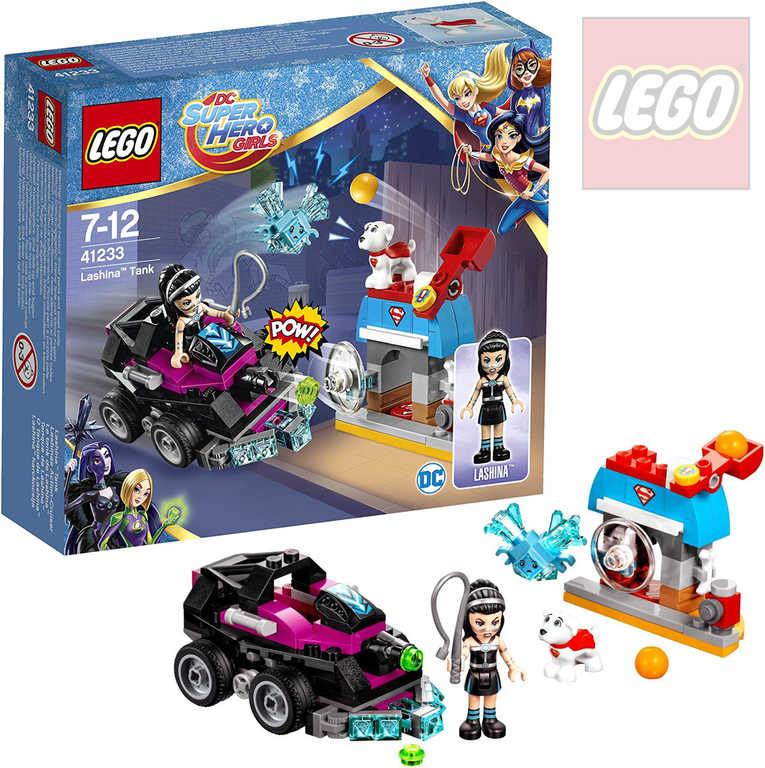 LEGO SUPER HEROES Lashina a vozidlo do akce 41233 STAVEBNICE
