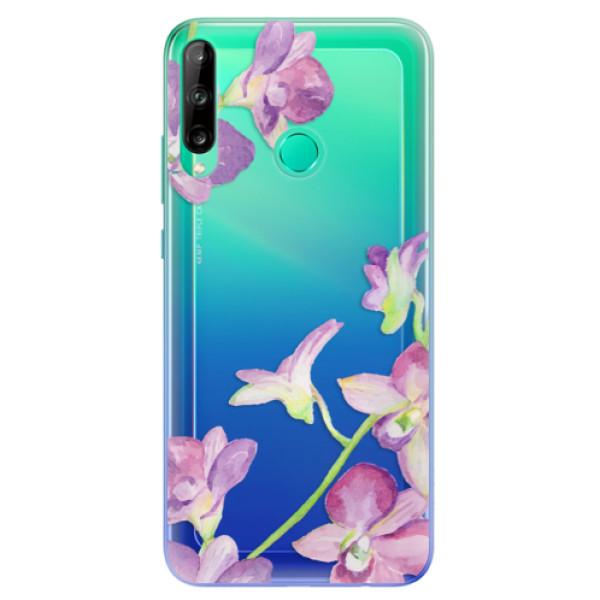 Odolné silikonové pouzdro iSaprio - Purple Orchid - Huawei P40 Lite E