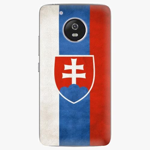 Plastový kryt iSaprio - Slovakia Flag - Lenovo Moto G5