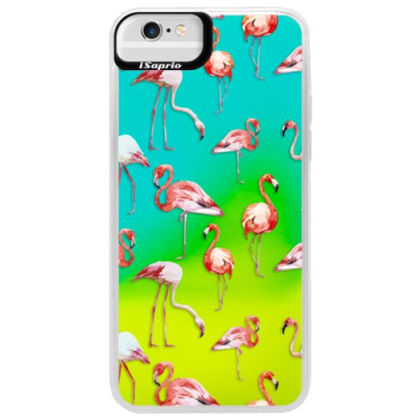 Neonové pouzdro Blue iSaprio - Flami Pattern 01 - iPhone 6 Plus/6S Plus