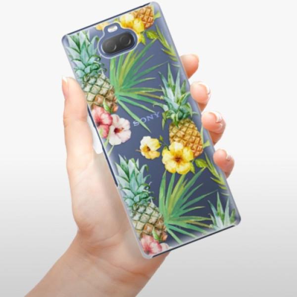 Plastové pouzdro iSaprio - Pineapple Pattern 02 - Sony Xperia 10