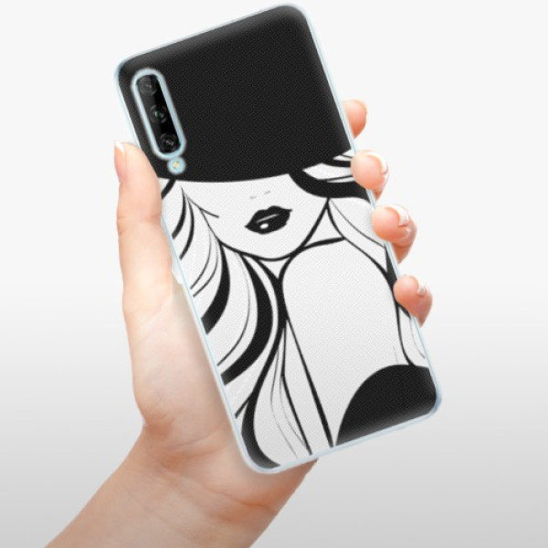 Odolné silikonové pouzdro iSaprio - First Lady - Huawei P Smart Pro