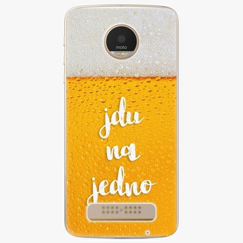 Plastový kryt iSaprio - Jdu na jedno - Lenovo Moto Z Play
