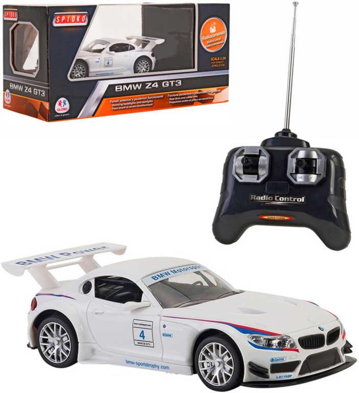 RC Auto BMW Z4 GT3 na dálkové ovládání 1:24 na baterie 27MHz
