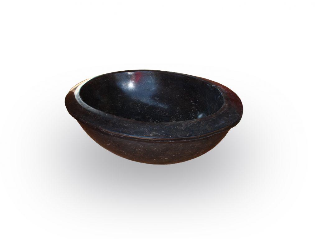 Kamenné umyvadlo Verum Black