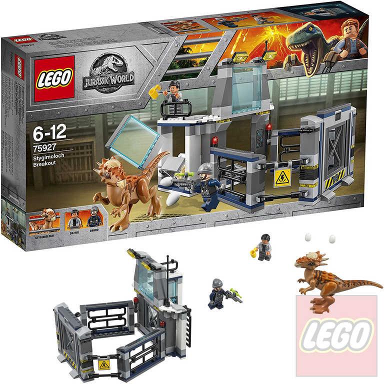 LEGO JURSKÝ SVĚT Útěk Stygimolocha 75927 STAVEBNICE