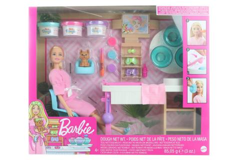 Barbie Salón krásy herní set s běloškou GJR84 TV 1.9.-31.12.2020