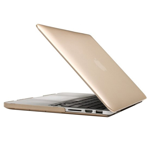 Polykarbonátové pouzdro / kryt iSaprio pro MacBook Retina 15 zlatý