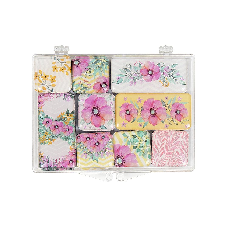 Sada magnetů - Květy