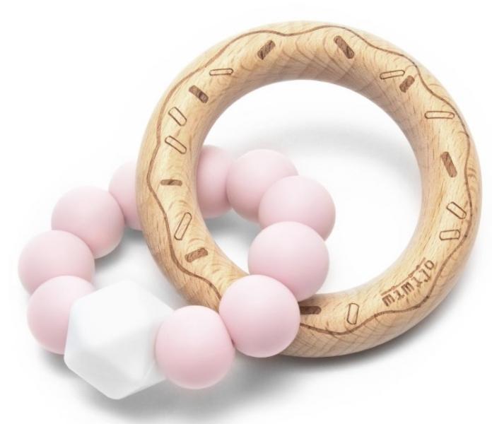mimijo-silikonove-kousatko-donut-ruzove