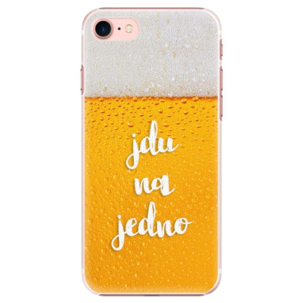 Plastové pouzdro iSaprio - Jdu na jedno - iPhone 7