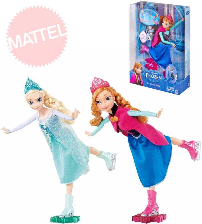 MATTEL Disney Princess Bruslařka FROZEN Ledové Království Anna, Elsa