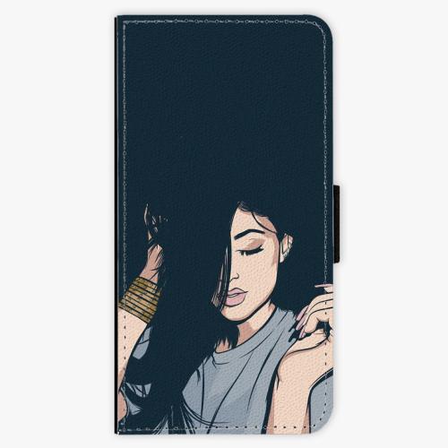 Flipové pouzdro iSaprio - Swag Girl - Nokia 6