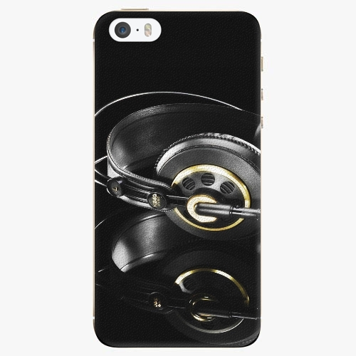 Plastový kryt iSaprio - Headphones 02 - iPhone 5/5S/SE