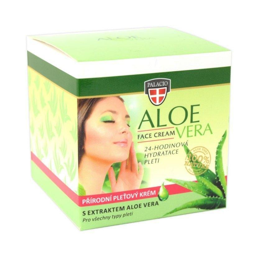 Pleťový krém Aloe Vera zelený 50 ml
