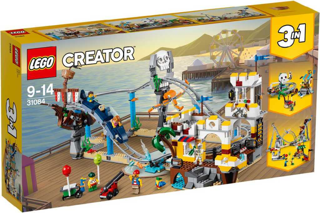 LEGO CREATOR Pirátská horská dráha 3v1 31084 STAVEBNICE