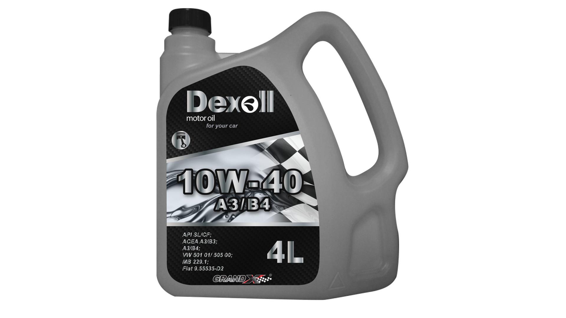 DEXOLL 10W-40 A3 / B4 4L