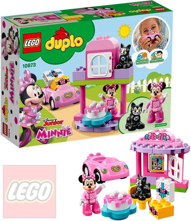 LEGO DUPLO Minnie a narozeninová oslava 10873 STAVEBNICE