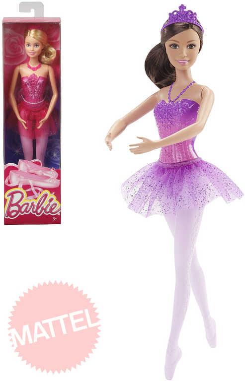 MATTEL BRB Barbie balerína panenka baletka s doplňky 2 druhy