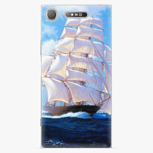 Plastový kryt iSaprio - Sailing Boat - Sony Xperia XZ1