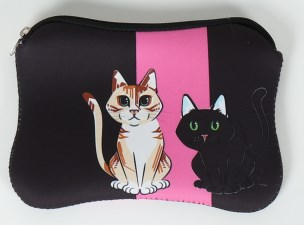 Neoprenové taštičky - Pouzdro - Kočka