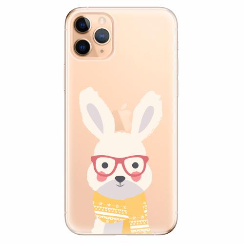 Silikonové pouzdro iSaprio - Smart Rabbit - iPhone 11 Pro Max