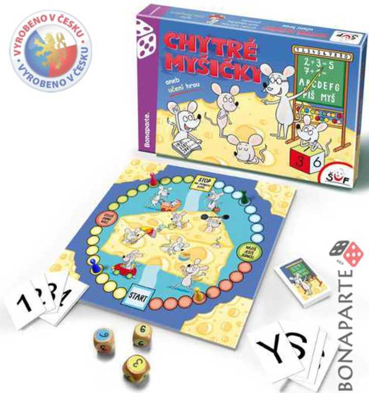 BONAPARTE Hra Chytré myšičky - společenská didaco hra