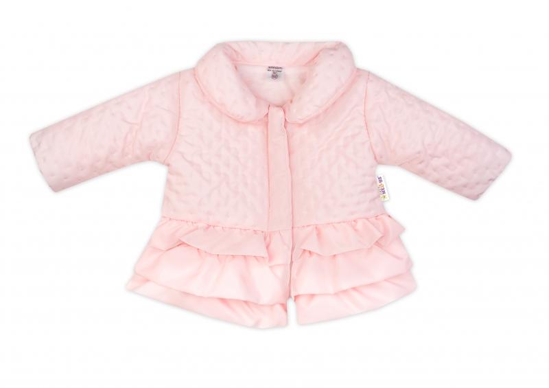 baby-nellys-kojenecka-prechodova-bundicka-s-volanky-svetle-ruzova-vel-68-68-4-6m
