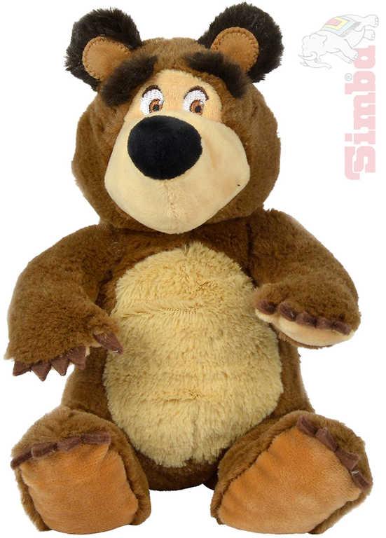 SIMBA PLYŠ Medvěd sedící 20 cm Máša a medvěd